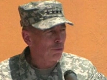 VIDEO: Gen. Petraeus takes command in Afghanistan