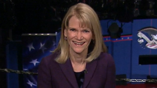 VIDEO: Martha Raddatz discusses what it was like to moderate the vice presidential debate.
