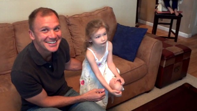 """VIDEO: Adorable 4-year-old Alyssa Brown has a new wish for Snow White after seeing herself on """"GMA."""""""