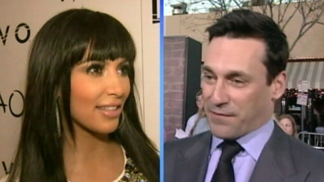 VIDEO: Two stars battle it out after the Mad Men actor slammed the reality-TV star.