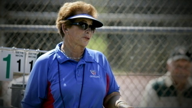 VIDEO: Profession tennis ref Lois Goodman is charged with killer her 80-year-old husband.