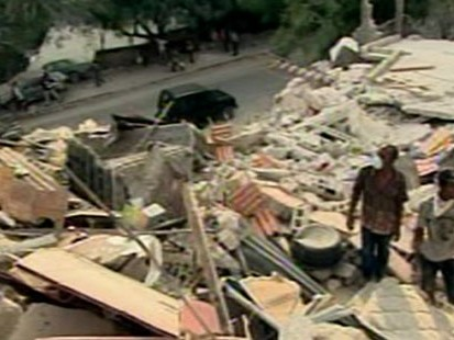 VIDEO: Racing the Clock to Save Haiti Quake Victims Amid the Stench of Death