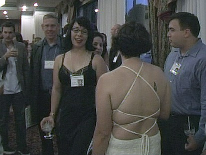 VIDEO: Stripper Impersonates High School Alum: Classmates Learn About Reunion Prank on YouTube