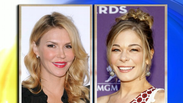 VIDEO: Singer, and stepmother to Brandi Glanvilles children, is involved in dispute with reality-TV star.