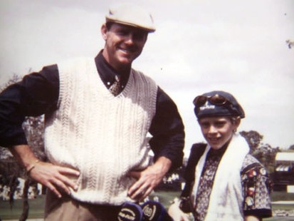 VIDEO: Late golfer Payne Stewarts son takes up the game that made his dad a legend.