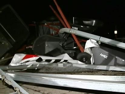 VIDEO: Tornado Overhead