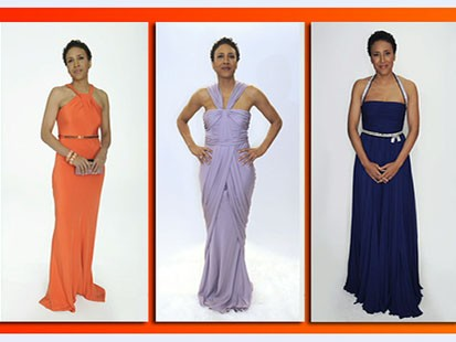 VIDEO: Robin Roberts reviews some of the viewers opinions on her Oscar dress options.
