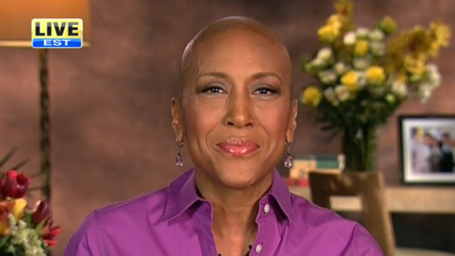 """VIDEO: The """"GMA"""" anchor has good news about her recovery from her bone-marrow transplant."""