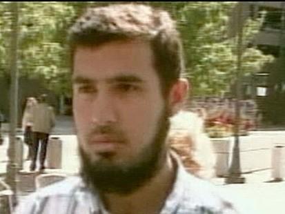 VIDEO: Terror suspect is arrested.