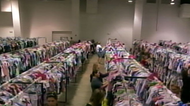 VIDEO: The Biggest Consignment Sale