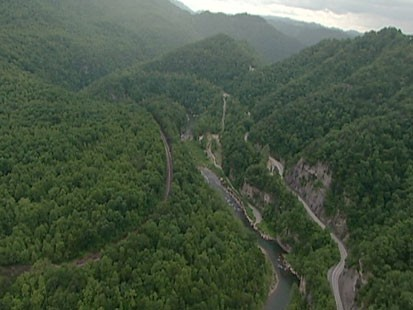 VIDEO: The Appalachian mountains.