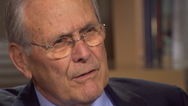 "VIDEO: Former defense secretary says allegations of lying about WMDs is ""nonsense."""