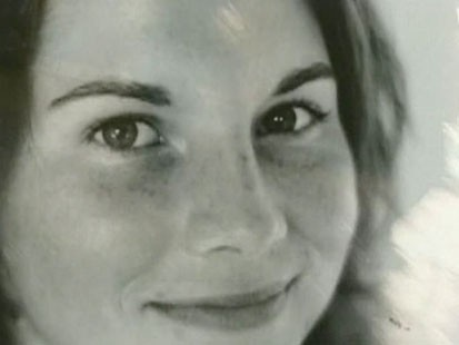 A picture of Amanda Knox.