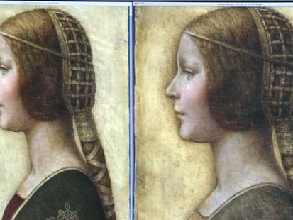 VIDEO: A fingerprint may determine if the work of art is worth millions of dollars.