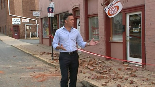 VIDEO: Jim Sciutto reports on the East Coast earthquake from Culpeper, Va.