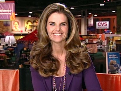 A picture of Maria Shriver.
