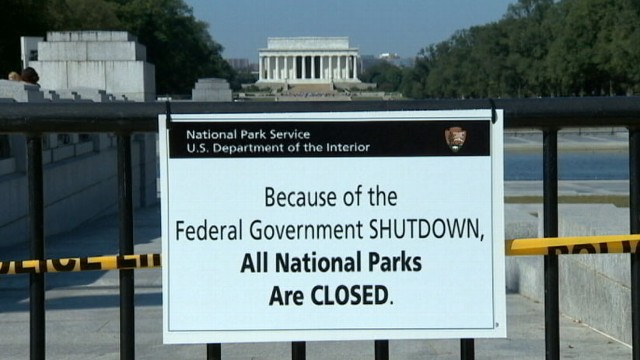 VIDEO: Obama shortens his trip to Asia as the shutdown could stretch for weeks.