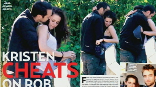 """VIDEO: """"Twilight"""" fans around the world are shocked by stars """"momentary indiscretion."""""""