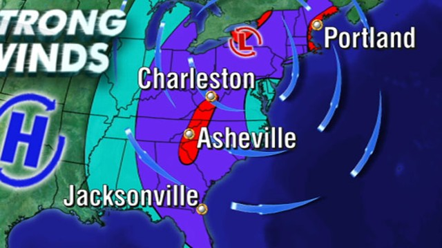 VIDEO: Major storm has potential to pound millions with hard rain, winds, and snow.