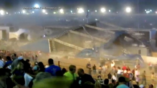 VIDEO: The band returns to the scene of the accident at the Indiana State fair.