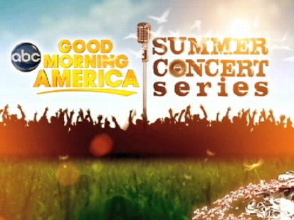 "VIDEO: The Summer Concert Series is every Friday on ""GMA"", starting May 21st."