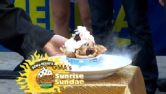 "VIDEO: Haylee Nelson reveals all the delicious flavors that make up the new ""Sunrise Sundae."""