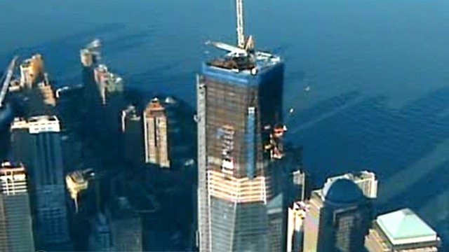 VIDEO: Skyscraper being erected at Ground Zero will be the tallest in the Manhattan.