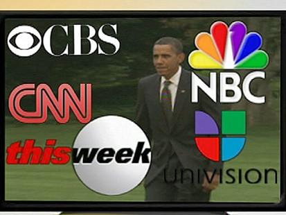 VIDEO: Obamas Media Blitz