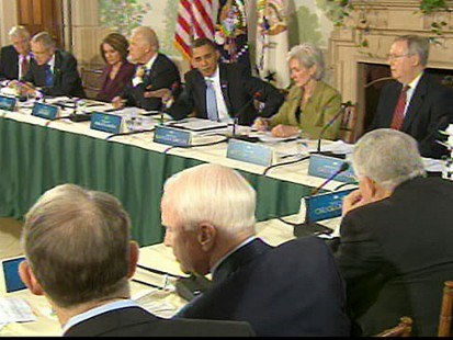VIDEO: President Obama says he will not scratch his health care plan and start anew.