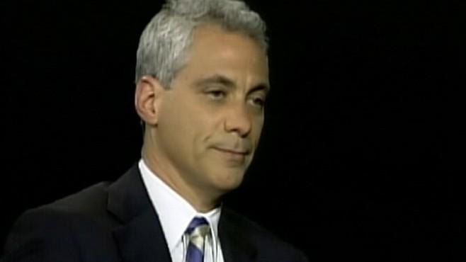 VIDEO: Rahm Runs for Mayor