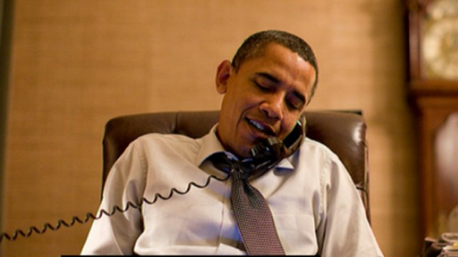 VIDEO: The president makes roughly 60 calls to House and Senate winners.