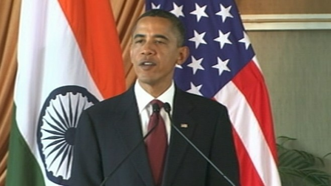 VIDEO: Obama Offers India Permanent Security Council Seat