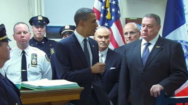 VIDEO: President meets with SEALs who killed bin Laden, gets boost going into 2012.