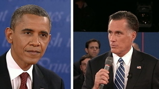 VIDEO: President Obama and Mitt Romney squared off for the second time in a town hall-style debate.