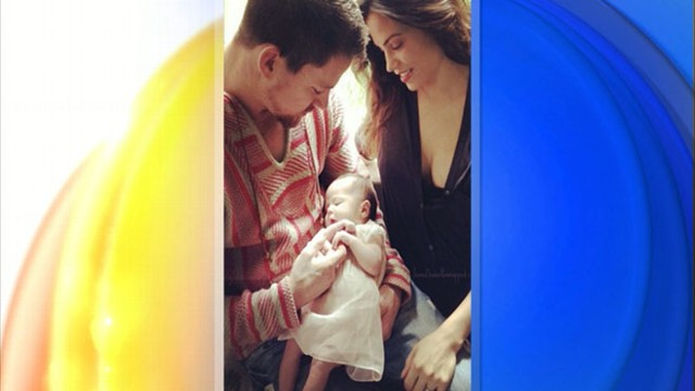 VIDEO: Channing Tatum on Baby Everly