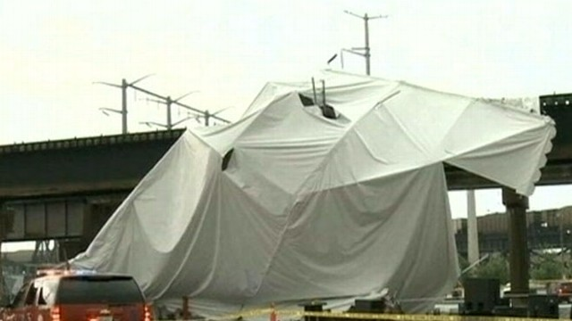 VIDEO: High winds blow over beer tent killing one and injuring 17.