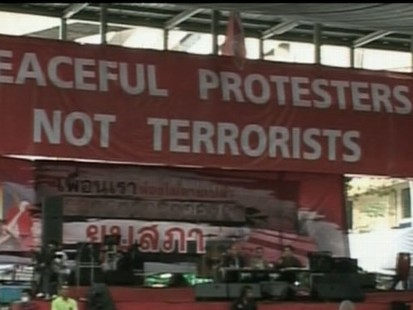 VIDEO: Military Clashes With Protestors in Thailand