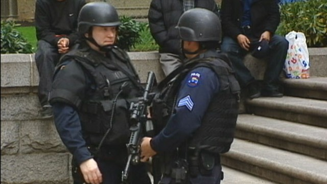 VIDEO: Government security agencies are stepping up their public presence across U.S.