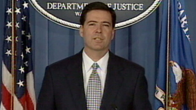 VIDEO: The president has chosen longtime prosecutor and corporate executive James Comey to head the FBI.