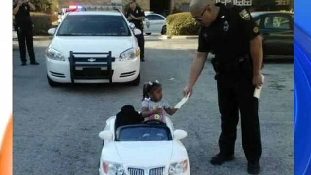 VIDEO: Police Ticket Mini-Motorists