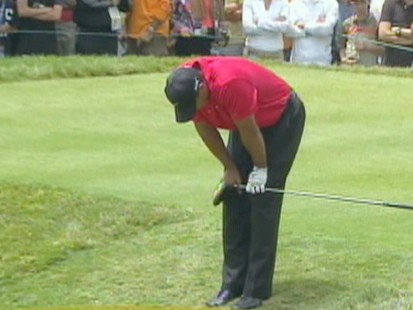 VIDEO: Tiger Woods Car Crash