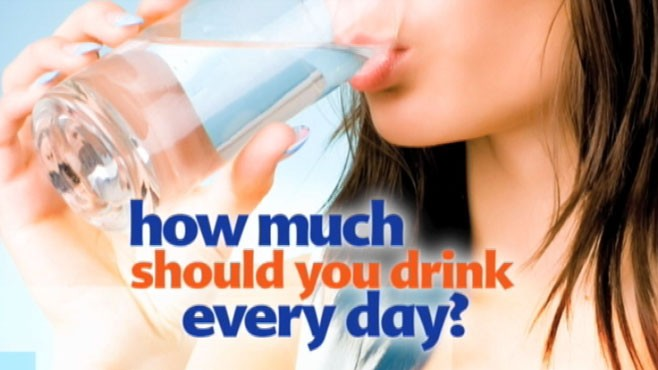 VIDEO: How many glasses of water should you be drinking every day?