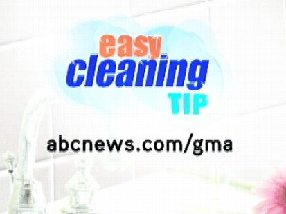 VIDEO: Spray cleaner on a towel before cleaning a mirror or glass surface.