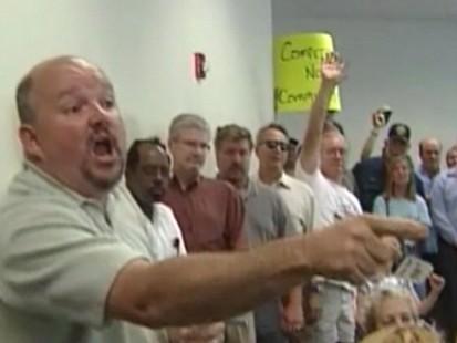 VIDEO: Health Care Debate Gets Rowdy