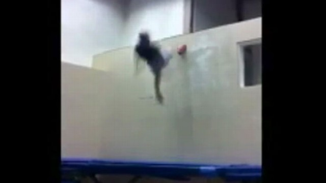 VIDEO: Julien Roberge wants to competitive wall trampolining to be an extreme sport.