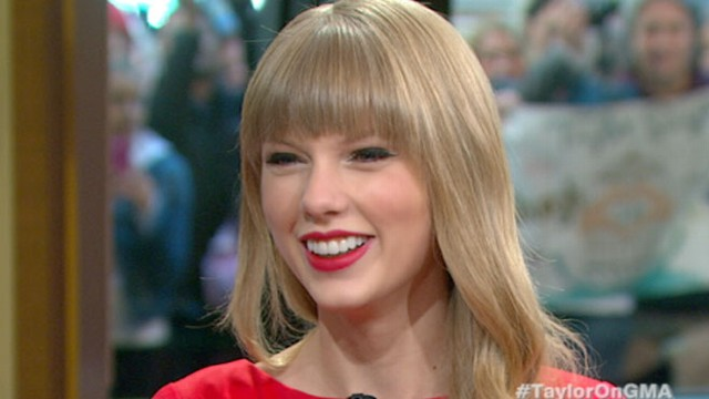 VIDEO: Country Music Star Taylor Swift on New Album Red