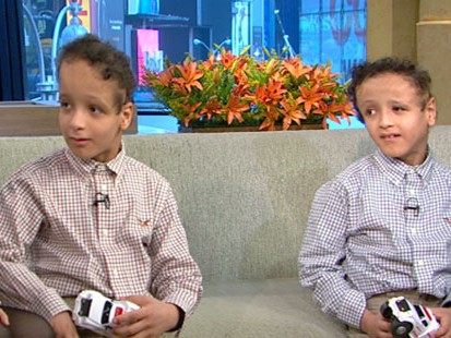 VIDEO: The formerly conjoined Egyptian twins are now happy and healthy sixth-graders.