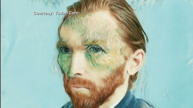 VIDEO: Van Goghs Self-Portrait Recreated Into Modern Photograph