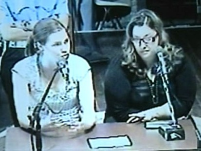 VIDEO: The American testifies that Italian cops coerced her into implicating herself.