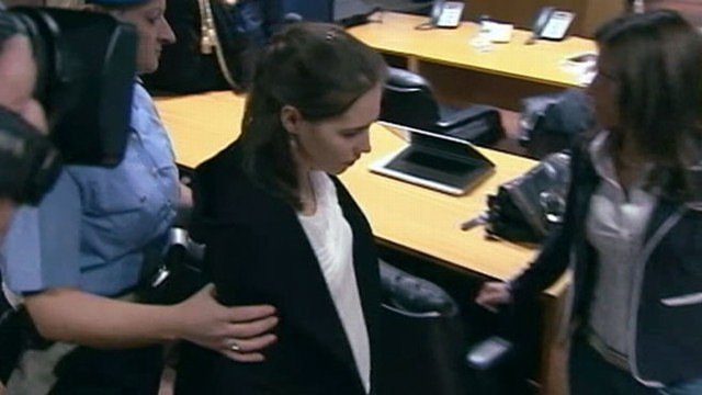 VIDEO: Prosecutors ask for a more severe penalty in her appeal trial.